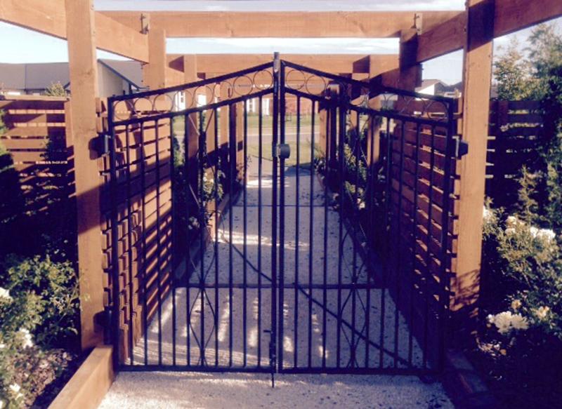 Custom Aluminium Gates